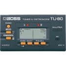 BOSS TU-80 Tuner/Metronome