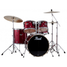 Pearl Export 5 Piece Drum Kit w Hardware Wine Red